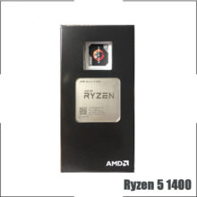 AMD Ryzen 5 1400 R5 1400 3.2 GHz Quad-Core CPU Processor YD1400BBM4KAE Socket AM4