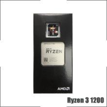 AMD Ryzen 3 1200 R3 1200 3.1 GHz Quad-Core Quad-Thread CPU Processor L2=2M L3=8M 65W YD1200BBM4KAE Socket AM4 New and with fan