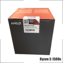 AMD Ryzen 5 1500X R5 1500x 3.5 GHz Quad-Core Eight-Thread CPU Processor L3=16M 65W YD150XBBM4GAE Socket AM4 New and with fan