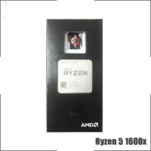 AMD Ryzen 5 1600X R5 1600x 3.6 GHz Six-Core Twelve-Thread New CPU Processor YD160XBCM6IAE Socket AM4